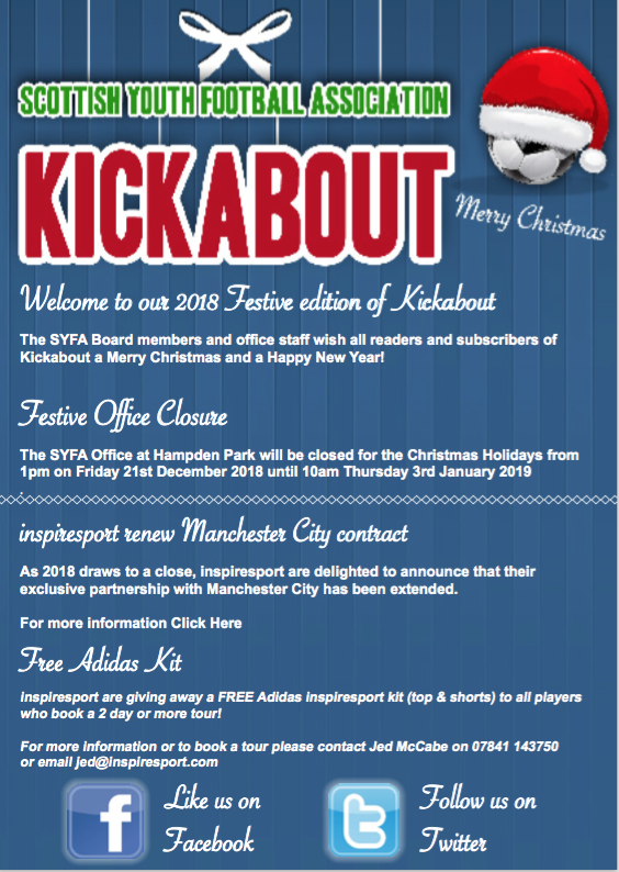 Kickabout Dec 2018